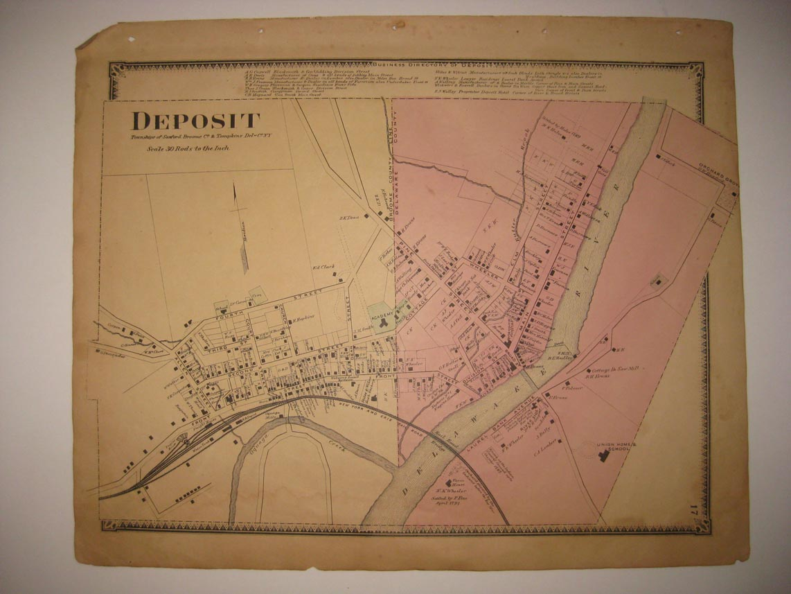 Details about VINTAGE ANTIQUE 1869 DEPOSIT SANFORD TOMPKINS DELAWARE on warm mineral springs map, seminole towne center map, staten map, whispering pines map, goldenrod map, boothbay region map, frostproof map, southwest orlando map, port clyde map, lake mary map, scott lake map, bonifay map, silver valley map, west volusia map, lee vista map, ontario intl airport map, bennettsville map, thonotosassa map, central carolina community college map, rose city map,
