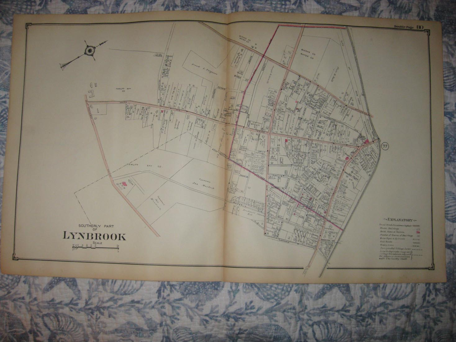 1804 NY MAP Lockport Peekskill Franklin Square New York History VERY BIG