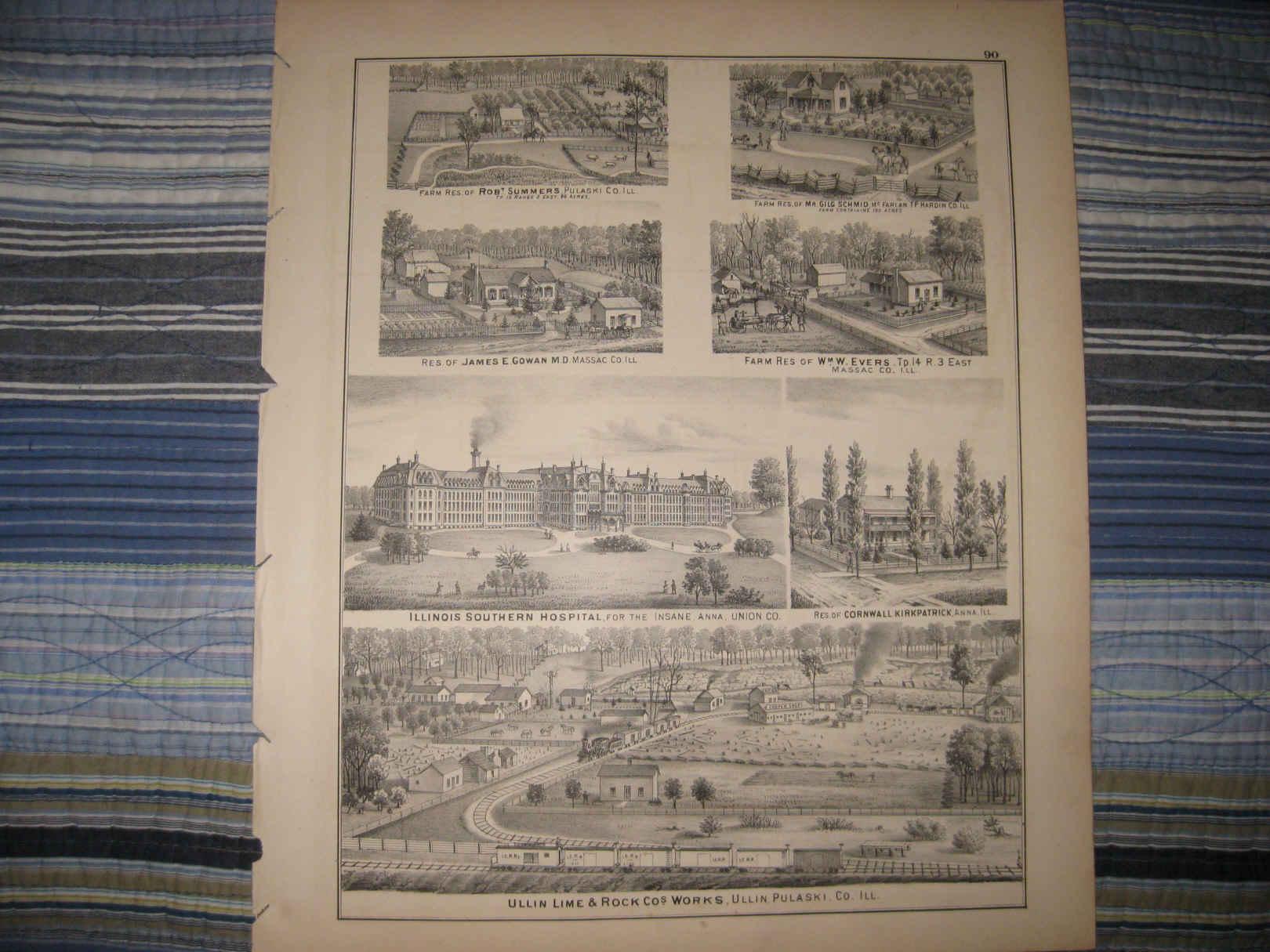 Partitura vintage springfield illinois
