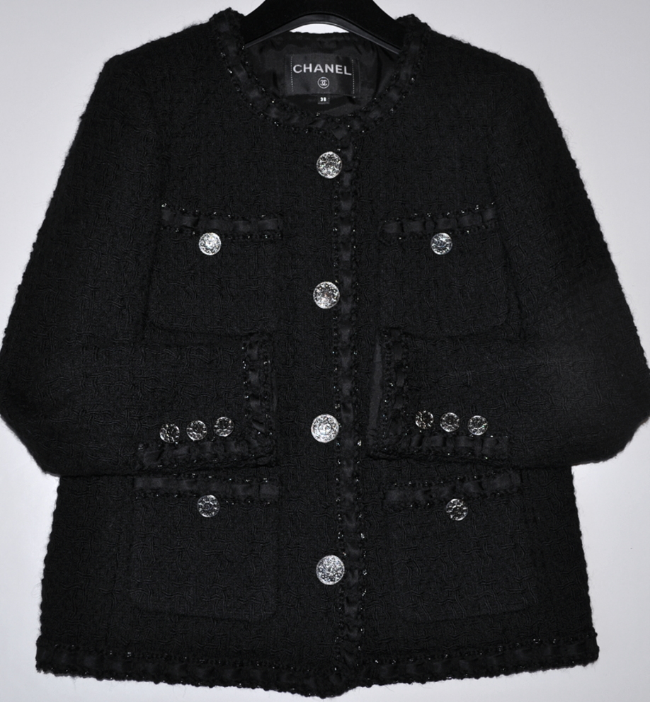CHANEL 16A PARIS ROME MOST WANTED LESAGE TWEED LITTLE ...