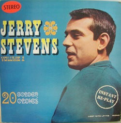 Jerry Stevens - 20 Golden Oldies Volume 2