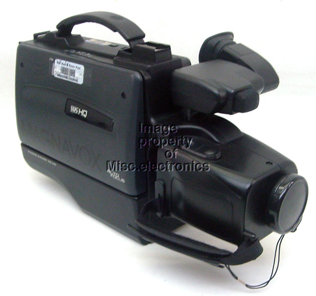 Magnavox Easy Cam VHS Camcorder Video Recorder Camera ...