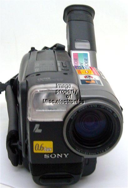SONY CCD TRV86 HANDYCAM VISION VIDEO HI8 CAMCORDER FOR PARTS