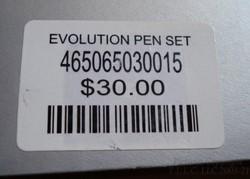 NEW//RARE BOEING COMPANY EVOLUTION  2 PEN SET IN UNIQUE GIFT BOX-$40 TOTAL VALUE