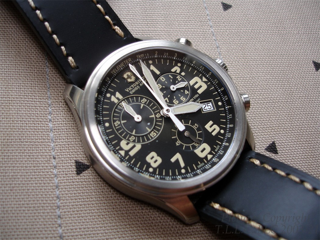 NEW 241314 VICTORINOX WATCH STAINLESS VINTAGE INFANTRY ...