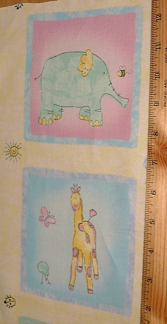 Two By Two Fabric by Epic Baby Yellow #0209-557 Cornsilk Premium Cotton Children