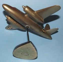 RARE Vintage WWII USAF MARTIN B 26 MARAUDER Bronzart Desktop Model