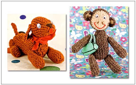 Amigurumi Animals Annie Obaachan : Make Japanese Amigurumi Crochet Animals Elephant CAT eBay