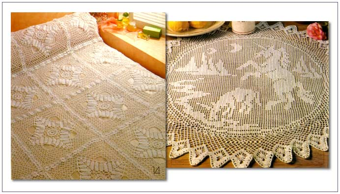Large Crochet Oval Tablecloth Pattern - Crochetville