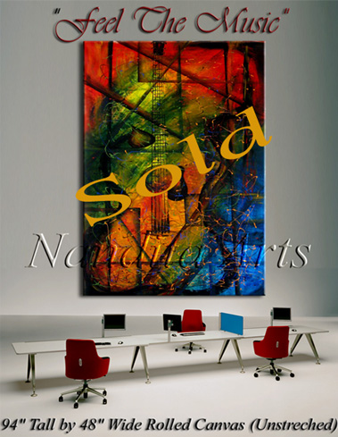 Wall Art Abstract Art Painting by Nandita