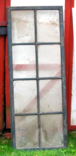 Vintage wooden 1951 screen door with glass for Storm door screen insert