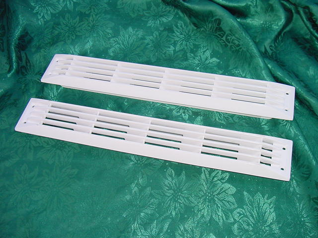 """WHITE BOAT MARINE VENT LOUVER BILGE EXHAUST 17-1//2/"""" NEW PACHANGA GLASTRON OTHERS"""