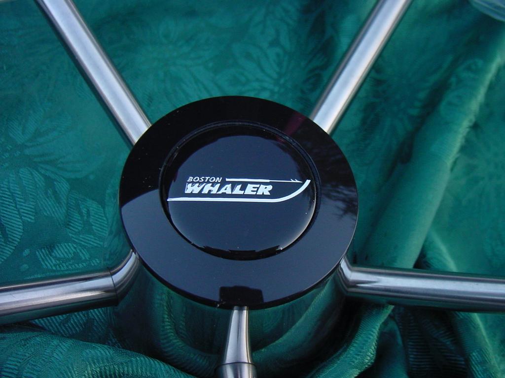 Boston Whaler Destroyer Turn Knob Stainless Steel Steering