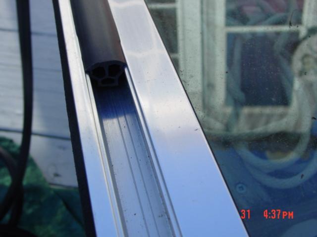Boat Windshield Rubber Formula Sea Ray Bayliner Screw