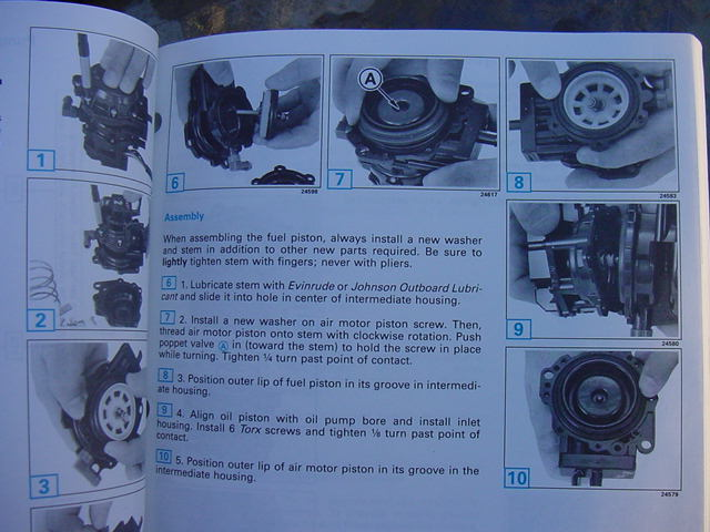 Omc 115 Turbojet service manual