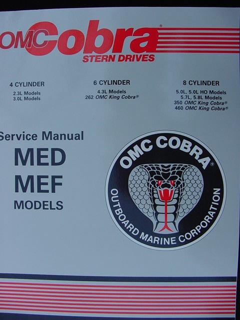 1989 Omc Cobra Service Repair Manual 2 3 3 0 4 3 5 0 5 7 5 border=