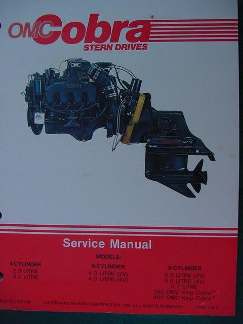 1988 Omc Cobra Stern Drive Engine Intermediate Service border=