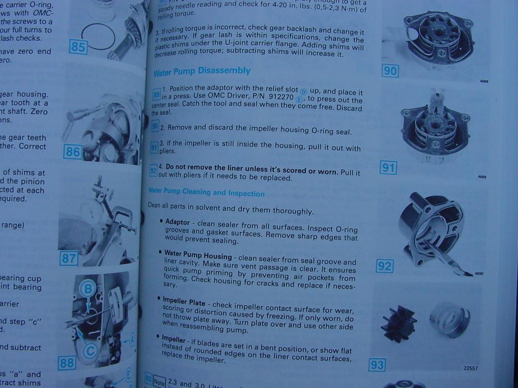 1990 Omc Cobra Stern Drive Service Manual 2 3 3 0 4 3 5 0 border=