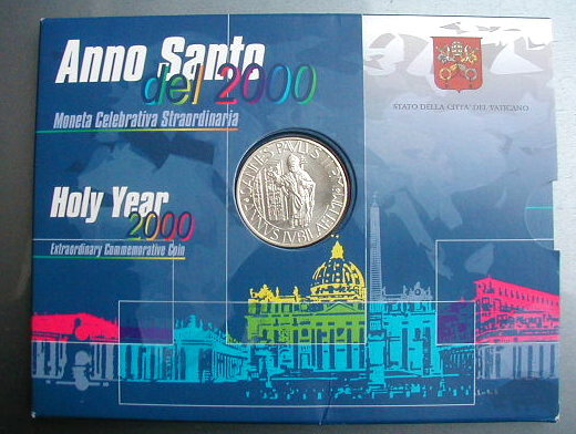 1981 Italy Vatican complete coins set UNC silver John Paul II in official BOX