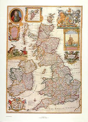 1715 Britain-England-Scotland-Ireland Antique Map Repro   eBay