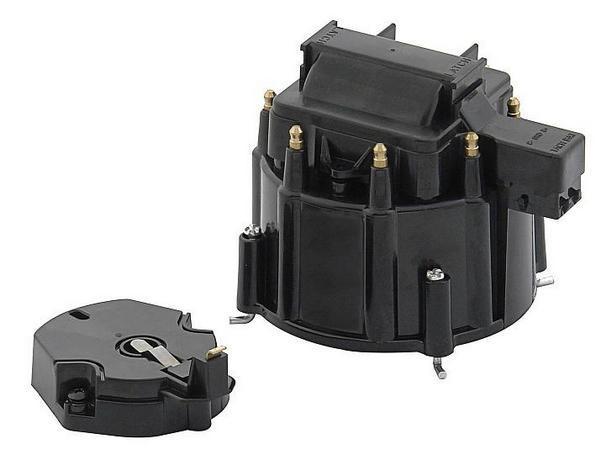 Maxx 4404k Black Hei Distributor Cap Big Small Block Chevy