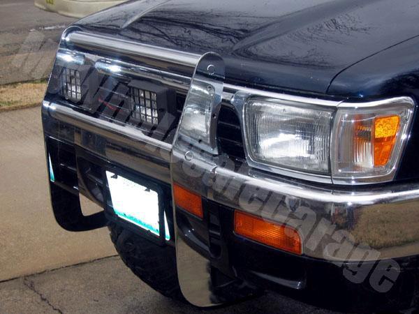 Pickup Brush Guard : Toyota pickup truck wd runner brush grill guard