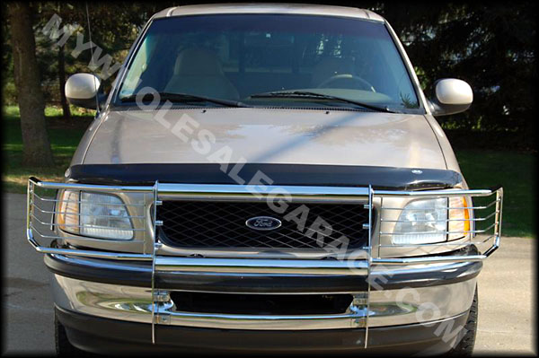 Ford Grill Guard For 85 : Ford bronco grill guard