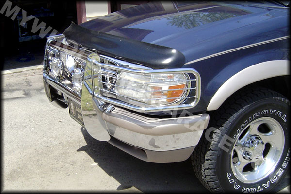 Ford Grill Guard For 85 : Ford truck ranger bronco brush grill guard on