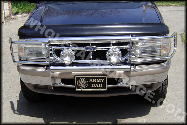 Ford Grill Guard For 85 : Ford truck ranger bronco brush grill guard