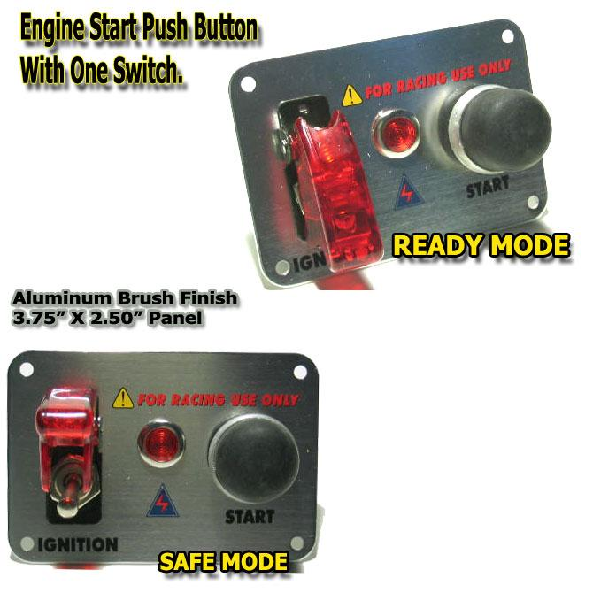 diy install engine start button  with pictures