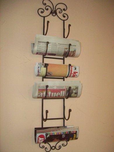 Tag re vin murale suspendre en fer forg range bouteilles ebay - Range bouteille fer forge ...