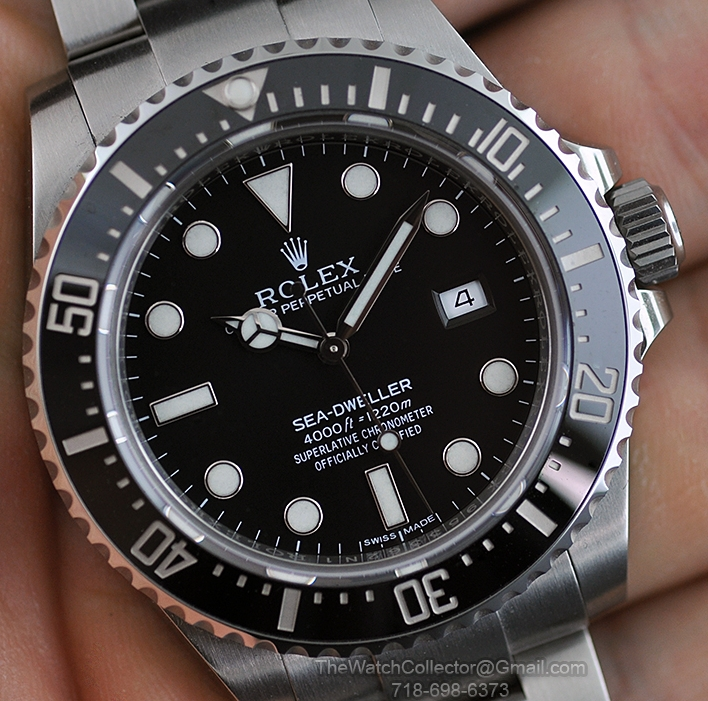 All ROLEX Subs and a Sea,Dweller! Take a LOOK!