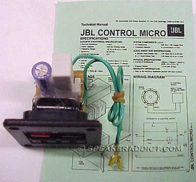 Jbl control micro crossover s w sk 3 bulb protection ebay for Electrical motor controls for integrated systems fifth edition