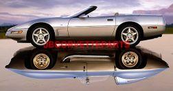 86-89 Corvette LH Door Handle Bezel NEW REPRO replaces GM 14088469