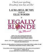 Legally Blond The Musical reviews link