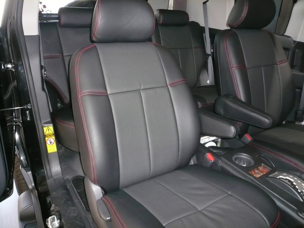 custom leather seats for 2013 scion autos post. Black Bedroom Furniture Sets. Home Design Ideas