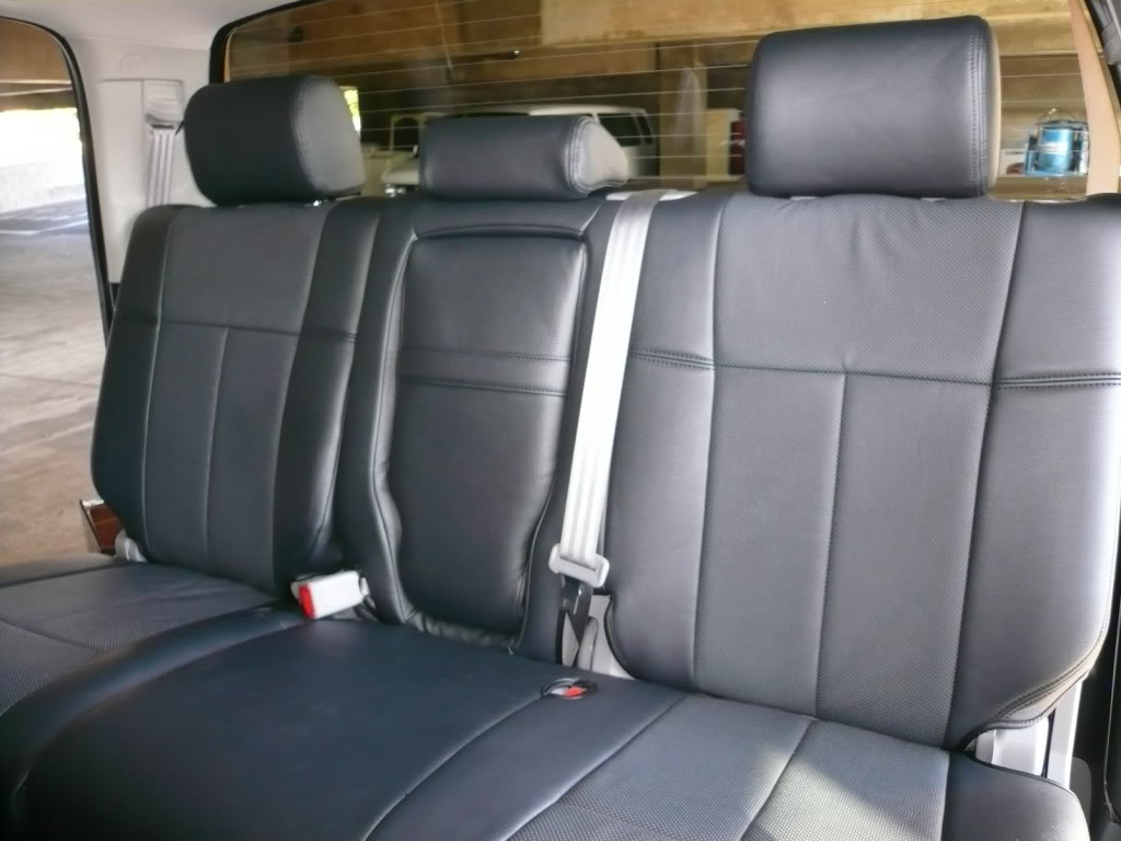 Leather Seats For Toyota Tacoma