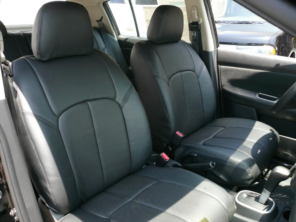 Clazzio Covers 2007 2010 Nissan Versa SL Leather Seat