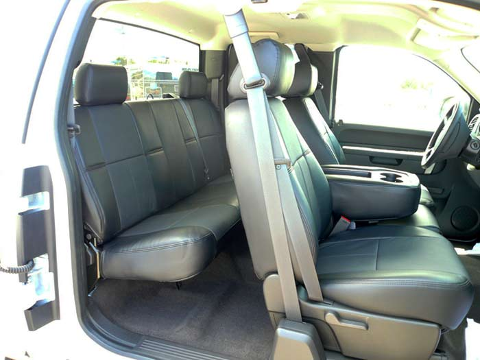 Incredible Clazzio Covers 2007 2012 Chevy Silverado Crew Cab All Pvc Ncnpc Chair Design For Home Ncnpcorg