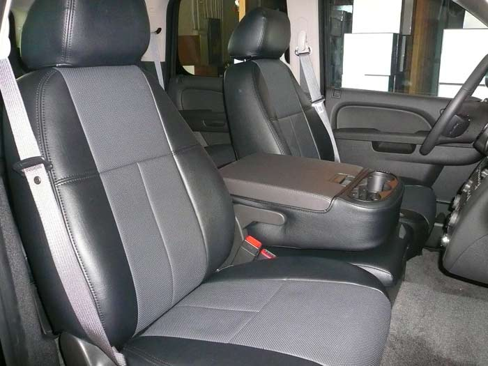 Clazzio Covers 07 10 Chevy Tahoe Leather Seat Covers