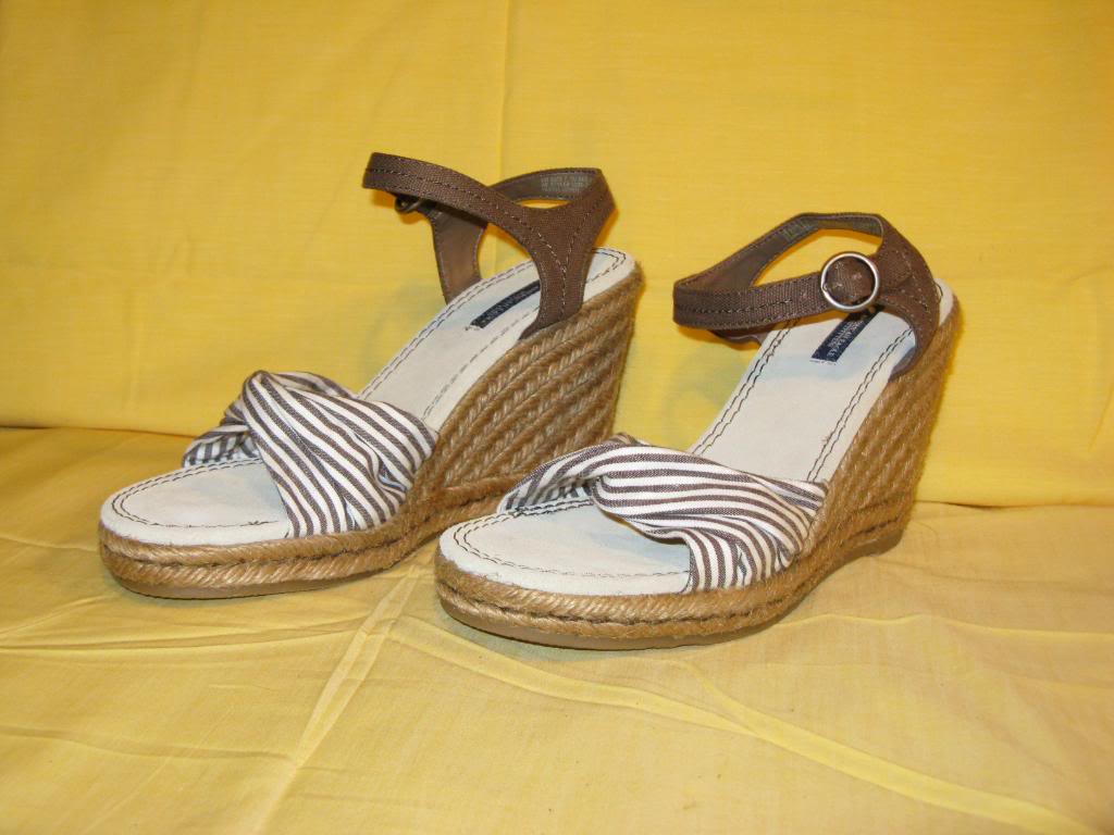 akrobig american eagle outfitters espadrille wedge shoes
