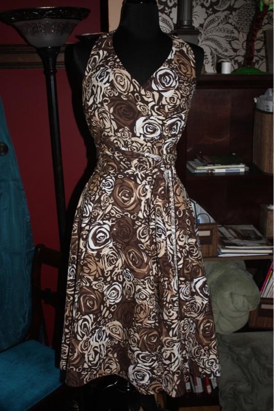 Brown Wrap - Plus Size Fashion | Women's Clothing in Plus Sizes