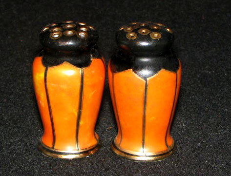 Estate Sales Gallery Decorative Urn Shaped Salt Pepper