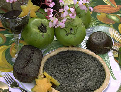 black sapote fruit healthy fruit cakes