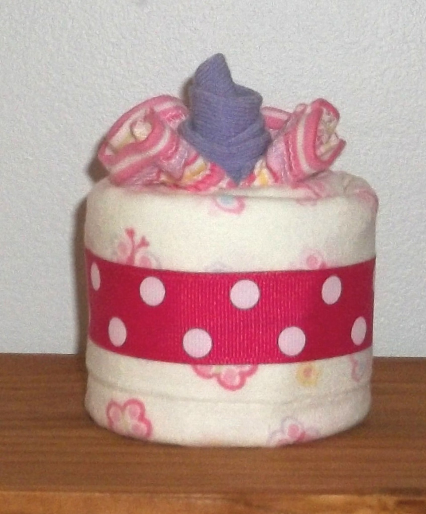 Gifts By Jayde Burp Cloth Cupcakes Baby Shower Favor