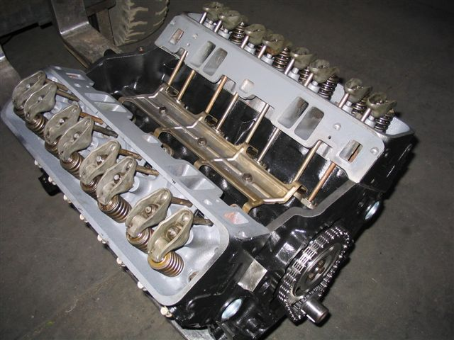 Remanufactured rebuilt chevy 350 autos weblog for Toyota 4 7 v8 crate motor