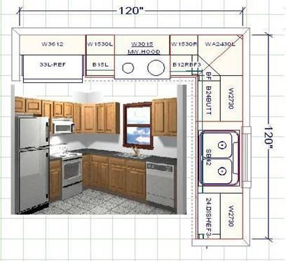 Kitchen layout template the best free software for your piratebayhh for Free kitchen design layout templates