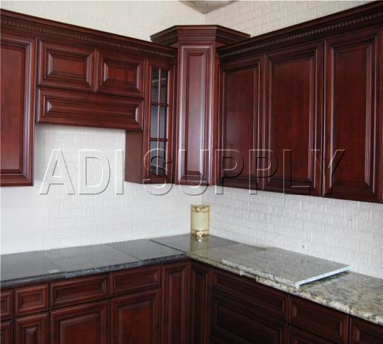 Allwood Kitchen Cabinets: GRANGER54 : ARUBA All Wood Kitchen Cabinets RTAs Dark