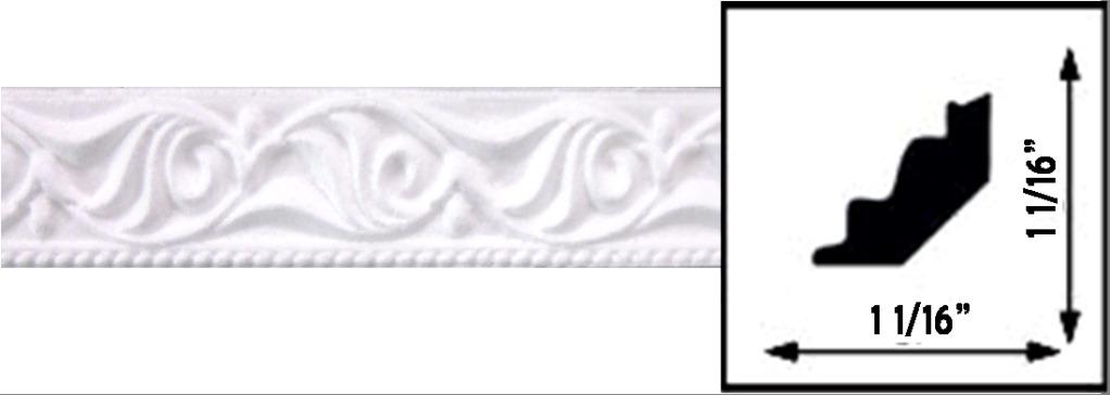 Decoceilings Crown Molding 4 Ceiling Tiles C22w Antique