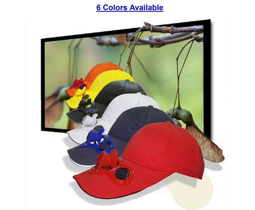 Elecrtronic Ver.2 Solar Powered Hat--Solar Fan Cap With